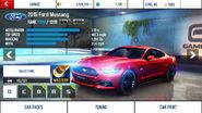Mustang stats (MP)