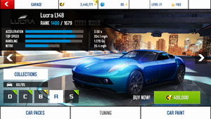 Lucra L148 base stats and price
