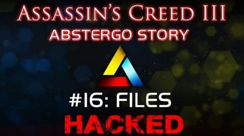 Assassin's Creed III Abstergo Story 16 Files Hack