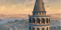 Uitzicht over Galata