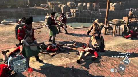 Assassin's Creed 3 - Boston demo commented walkthrough Trailer UK