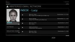 AC1 Lucy Abstergo Mail.png