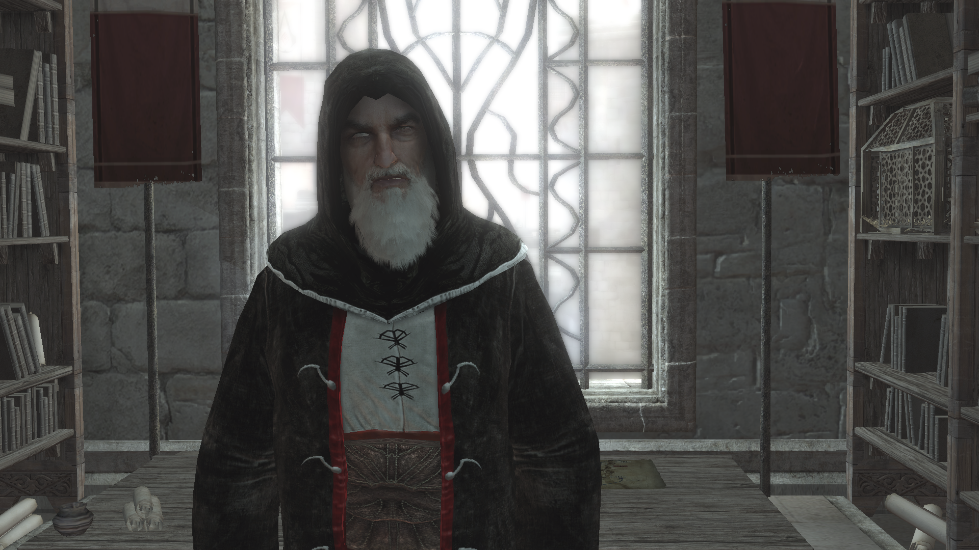 Image - Al Mualim closeup.png | Assassin's Creed Wiki ...