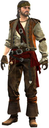 "Calico Jack w <a href=""/wiki/Assassin%27s_Creed_IV:_Black_Flag"" title=""Assassin's Creed IV: Black Flag"">Assassin's Creed IV: Black Flag</a>"