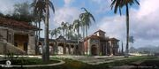 AC4 Governor's Mansion Havana - Concept Art