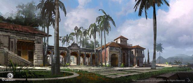 File:AC4 Governor's Mansion Havana - Concept Art.jpg