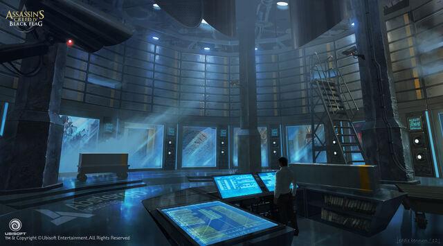 File:Assassin's Creed IV Black Flag Abstergo Entertainment 1 Concept Art by EddieBennun.jpg