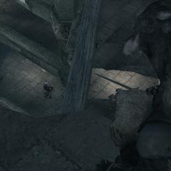 Ezio wordt in een hinderlaag gelokt door de volgelingen.