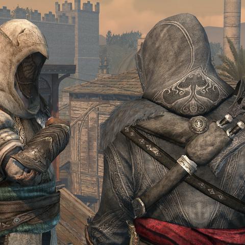 Dogan groet Ezio