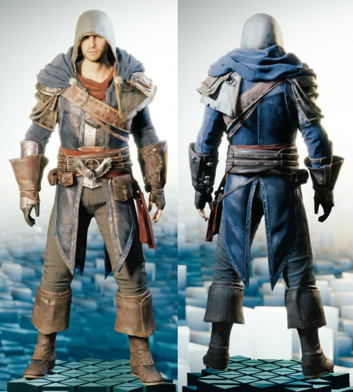 Image - ACU Improved Medieval Outfit.png | Assassinu0026#39;s Creed Wiki | FANDOM powered by Wikia