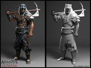 Follower of Romulus character model by Senecal