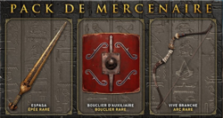 Mercenary Pack French