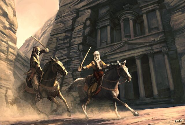 File:Assassins-Creed-Early-Concept-Art-Horse combat.jpg