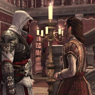 Claudia informeert Ezio.