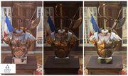 ACU Armor Statue In-Game