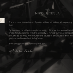 特斯拉的信息网络概念