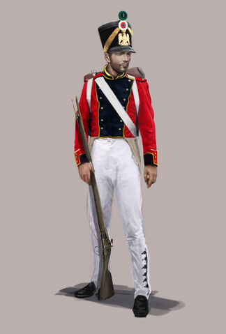 File:Redcoat infantry concept by Sergey Kalinen.jpg