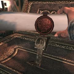 Ezio pakt de rol van Romulus