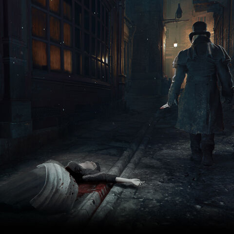 Promotional art of Jack the Ripper