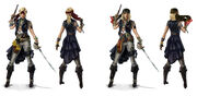 AC4 Siren Customizations - Concept Art