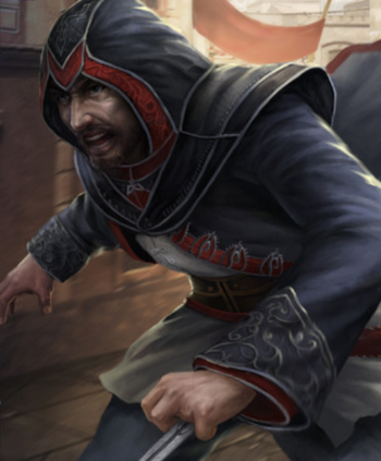 "Rashid w <a href=""/wiki/Assassin%27s_Creed:_Memories"" title=""Assassin's Creed: Memories"">Assassin's Creed: Memories</a>"