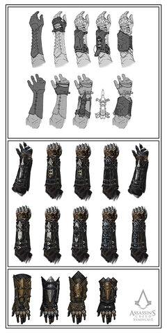 File:Assassin Gauntlet Evolution Sketches.jpg