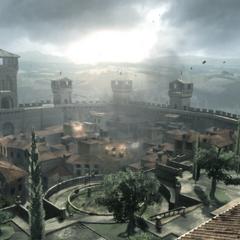 Monteriggioni tijdens de belegering