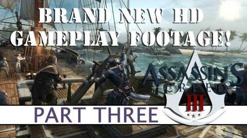 Assassins Creed 3 BRAND NEW GAMEPLAY - Part Three - Platform32