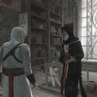 Al Mualim geeft Altaïr nog één kans.
