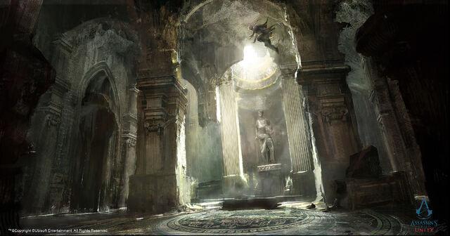 File:ACU Medieval France Catacomb - Concept Art.jpg
