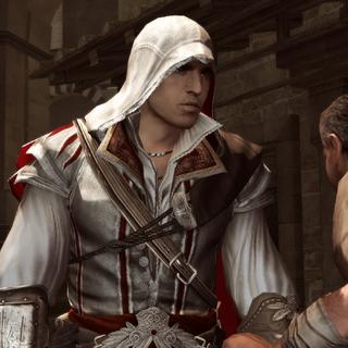Ezio wordt bestolen.