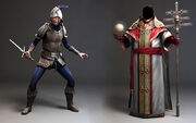 Laurent Sauvage Sample character work 4 - Assassin's Creed II