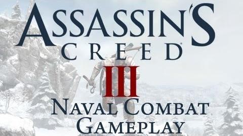 Assassin's Creed 3 - Naval Combat Gameplay