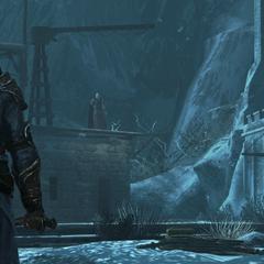 Leandros bedreigt Ezio