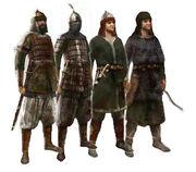 Saracen soldiers