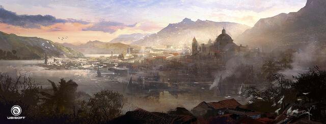 File:Assassin's Creed IV Black Flag Havana Skyline by Donglu.jpg