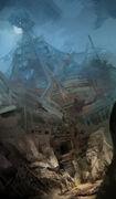 AC3 Dead Chest Island - Concept Art