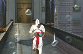 Altair charging to the tower - ACAC.png