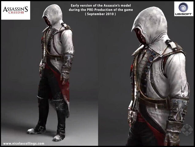 File:AC3 - Pre-Production Connor by Nicolas Collings 3.jpg