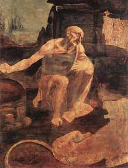 St-Jerome - By Leonardo