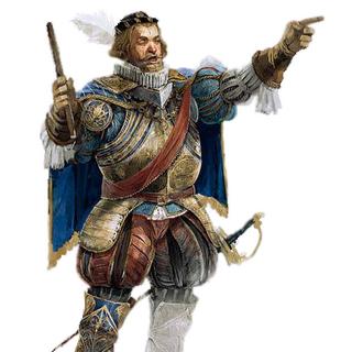 Concept art van Octavian de Valois.