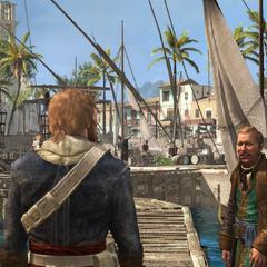 愛德華和施蒂德抵達哈瓦那