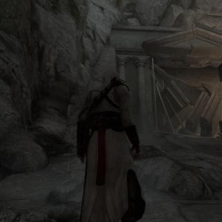 Altaïr is ingesloten.