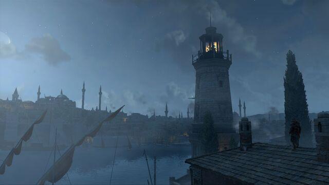 File:Constantinople at night.jpg