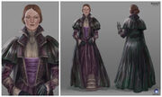 ACS Lady Owers - Concept Art