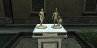 Monteriggioni statuettes