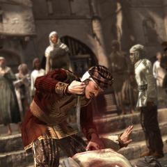 Tamir doodt de koopman.