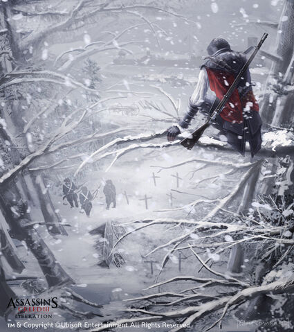 File:Assassin's Creed 3 Liberation,Aveline approaching the fort by EddieBennun.jpg