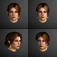 Caterina's gezichtsmodellen van <a href=