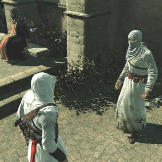 De informant vraag om Altaïrs hulp.